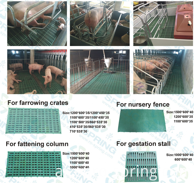 Composite Resin Slatted Floor for Pig
